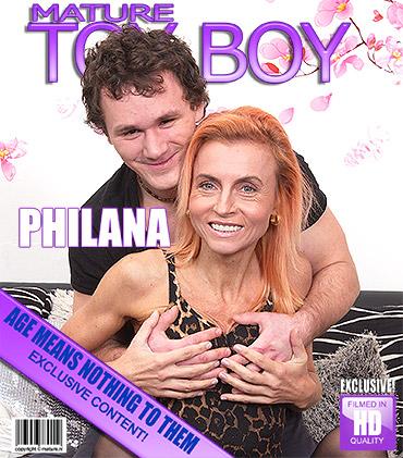 Kinky redhead housewife fucks and sucks her toyboy